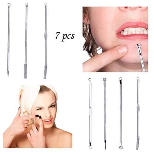 Sansee - Extractor de acné facial 7 piezas