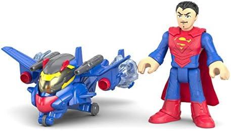 Mattel drm50, Imaginext Next – – – BatFemme Battlesh ifters AssortiHommes t, SuperFemme avec équipeHommes t de protection 528e83