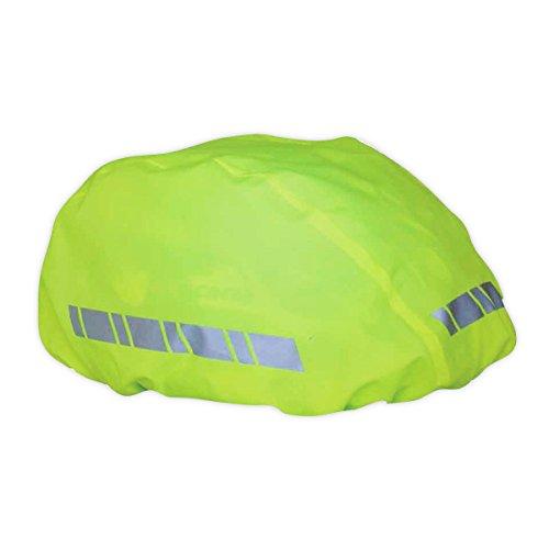 Helmüberzug mit 3M Scotchlite Refleksstreifen wasserdichter universal Helm Regenüberzug