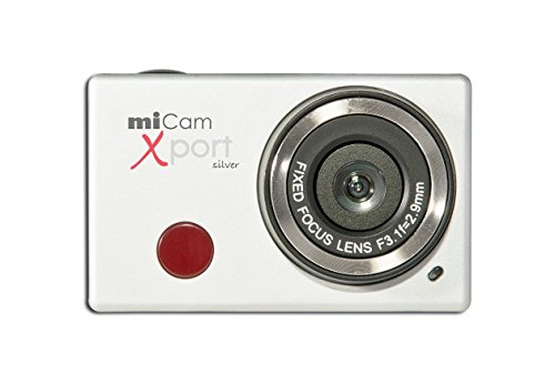 Wolder miCam Xport - Cámara deportiva de 8 MP (1080p, 30 FPS,...