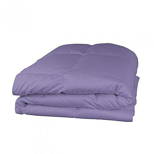 Cozy Sheets 600tc Italienisches Finish 1PC 200GSM Faser Füllen Tröster + 4PC-Bettlaken-Set Lavendel Farbe uk-small Double Größe 100% ägyptische Baumwolle-Durch Paradies Overseas -