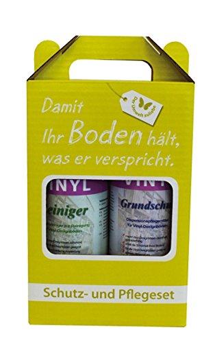 Reinigung & Pflege SET für Vinylboden / Vinylböden / PVC Belag