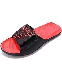 low priced 5b31e ca189 Chanclas Jordan – Hydro 7 Negro Rojo Rojo Talla  ...
