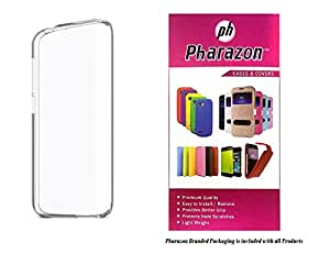 Micromax Bolt AD4500 Transparent Back Cover Premium Crystal Clear Case by Pharazon
