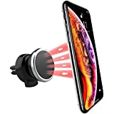 Power Theory Magnetic Car Air Vent Phone Holder x 87Plus 6S 6Se–Magnetic Mobile Phone Holder for iPhone 5S Samsung Galaxy Edge S9S8S7S6Smartphone Car Holder Universal Car Holder