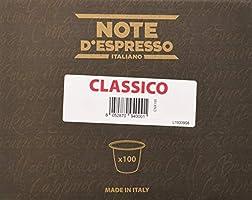 Note D'Espresso - Cápsulas exclusivamente compatibles con cafeteras Nespresso*, 5,6g (caja de 100 unidades)