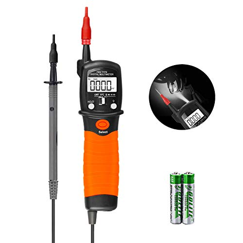 Digital Multimeter Durchgangsprüfer Multimeter Voltmeter, AC/DC Multi Tester Spannung, Strom, Widerstand,Durchgangsprüfung, für professionelle Anwender