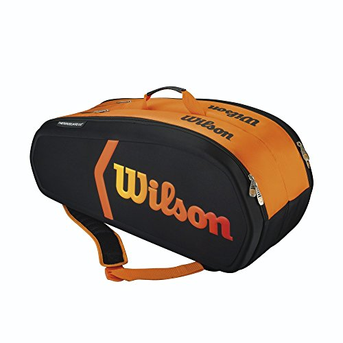 Wilson - Burn Molded 9er Tennistasche Schwarz