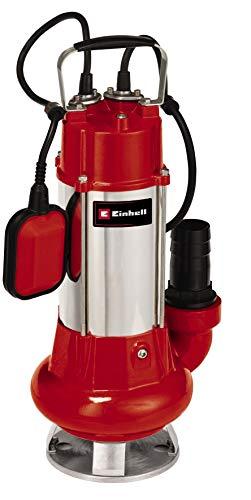 Einhell Schmutzwasserpumpe GC-DP 1340 G (1300W, Ø40mm Fremdkörper, 23.000L/h Förderleistung, Schwimmerschalter, Tragegriff, inkl. Universalanschlüsse)