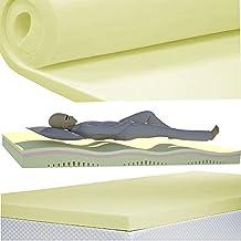 Niños bebé Juniors cuna ortopédico de espuma de memoria colchón de portátil 2,5cm de grosor, espuma, n/a, 120 x 60 x 2.5 cm