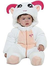vlunt coton doux à capuche bébé serviette de bain, 100% coton bio