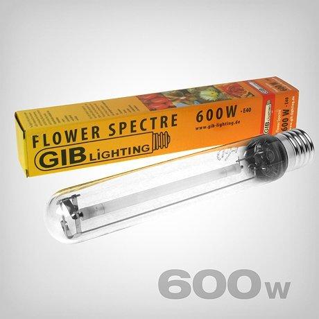 Natrium-lampen (GIB Lighting Flower Spectre Natriumdampflampe 600W für Blüte/Bloom)