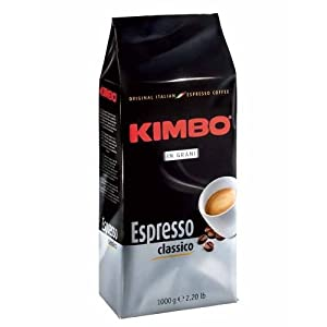 Caffè in grani Kimbo 1
