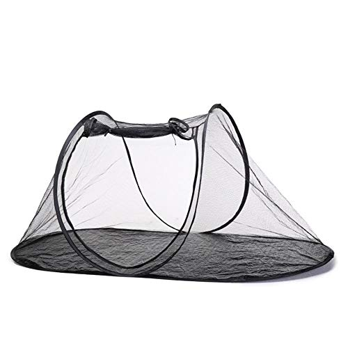 Volwco Faltbare Haustier Camping-Zelt Breathable Ineinander Greifen Haustier-Zelt Tragbare Im Innen Außenbereich Laufstall Fun House Für Hunde Katzen Vögel Papageien Schildkröten Reptilien