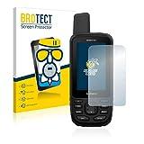 BROTECT Antireflecterende Glas Screenprotector compatibel met Garmin GPSMAP 66st - Anti-Glare Beschermglas met 9H hardheid, Mat, Ontspiegelend