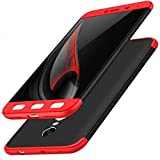 #8: Cool & Creative Double Dip Full 360* Protection Back Case Cover for MI REDMI NOTE 4 (Red/Black)