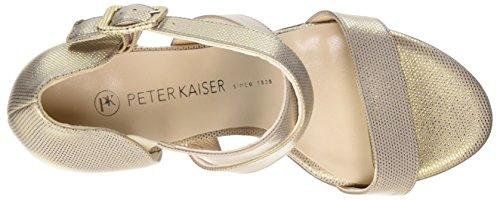 Peter Kaiser Ayse, Sandales  Bout ouvert femme Beige (sabbia Crown 301)