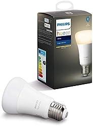 Philips Lighting Hue White Lampadina LED Connessa, con Bluetooth, Attacco E27, Dimmerabile, Tutte le Sfumature
