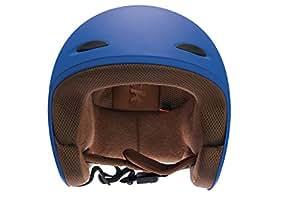 Fastrack HA01BU05 Open Face Helmet (Men's, Blue Matte, L)