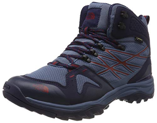The North Face M Hedgehog Fastpack Mid GTX (EU), Stivali da Escursionismo Alti Uomo, Giallo (China Blue/Peacoat Navy C2Y), 40