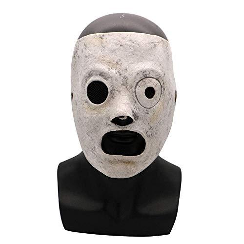 e Horror Maske Live Knot Band Gesichtsmaske Bar Nachtclub Maskerade Show Requisiten ()