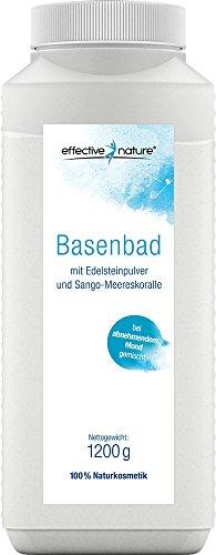 effective nature Basenbad mit Edelsteinpulver und Sango Koralle - 1200g