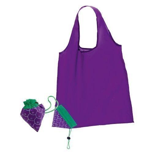 faltbare-wiederverwendbare-einkaufstasche-leicht-fruchtdesign-nylon-violett-trauben