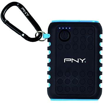 PNY The Outdoor Charger Batterie externe téléphone portable rechargeable 7800 mAh pour smarpthone