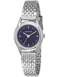 Sonata Essentials Analog Blue Dial Women's Watch NM87020SM01 / NL87020SM01