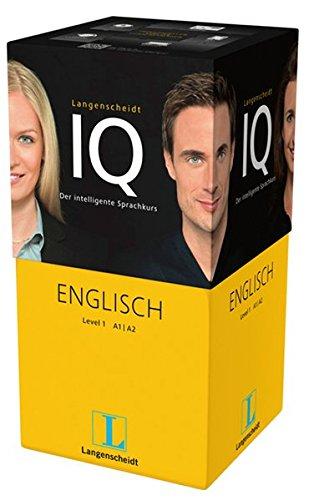 Langenscheidt IQ Englisch - Der intelligente Sprachkurs - Package aus 2 Büchern mit MP3-CDs,...