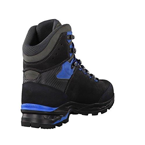 Lowa Camino Gtx, Bottes de Randonnée Homme noir bleu