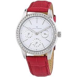 TOM TAILOR Damen-Armbanduhr Analog Quarz Leder 5411808