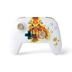 PowerA Nintendo Switch Enhanced Wireless Controller/Gamepad - Princess Zelda