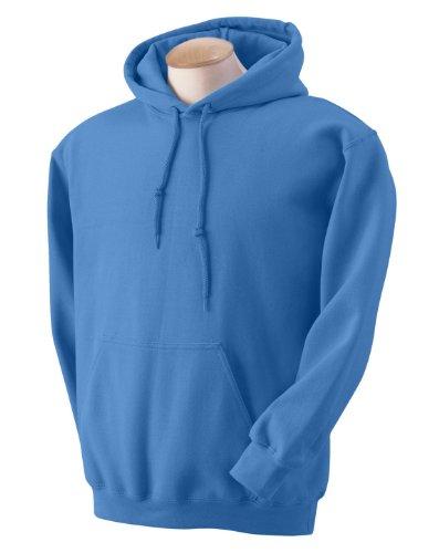 Gildan Heavyweight DryBlend Unisex Kapuzenpullover / Hoodie / Kapuzensweater S,Blau (Blau Hoodie)