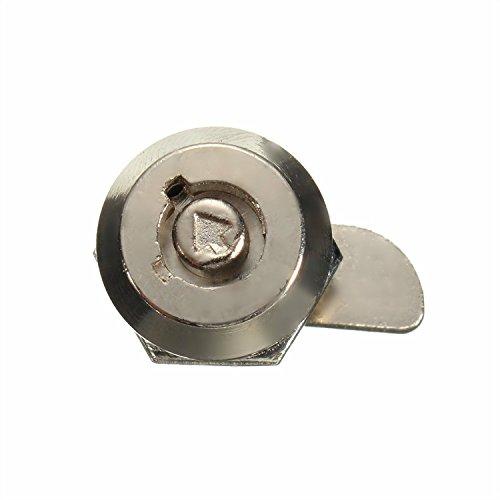 Schrankschloß Zylinderschloss Briefkastenschloß Möbelschloß Lock mit 2 Schlüssel