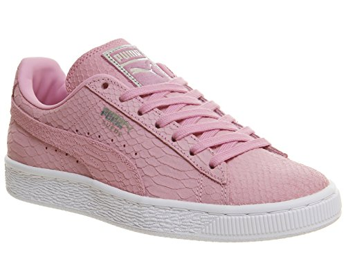 Puma Suede Classic+Water Wildleder Turnschuhe Prism Pink White Exotic
