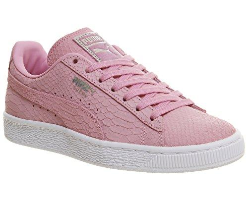 Puma Uomo Puma Classic Wedge L scarpe da ginnastica Prism Pink White Exotic