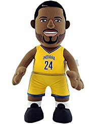 NBA Indiana Pacers Paul George Player Plush Doll, 6.5-Inch x 3.5-Inch x 10-Inch, Yellow
