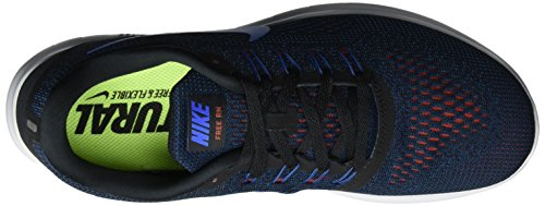 Nike - Free Rn, Pantofole Uomo Blu (Black/soar-dark Cayenne-tm Ryl)