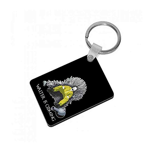 Fun Cases Walter Is Coming - Game of Thrones x Breaking Bad Keyring