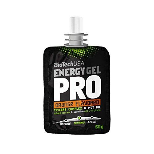 BiotechUSA Energy Gel Pro naranja 24*60g