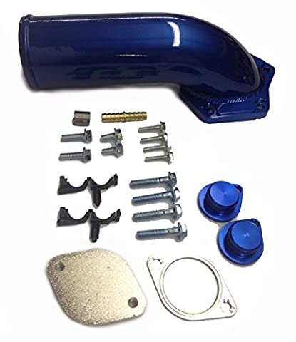 Ford 6.4L EGR Delete Kit 2008-2010 with Intake Elbow F250 F350 F450 EGR Cooler Bypass Kit Powerstroke Diesel by Alpha Dog