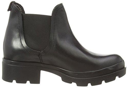 Fly London MENA Damen Chelsea Boots Schwarz (Black 000)