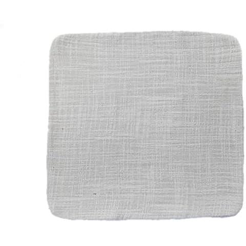 Bluelover Accessaries de Kungfu té lino toalla de té japonés de algodón-plata