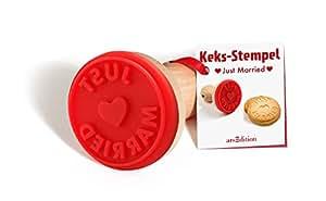 """Keksstempel """"""""Just Married"""""""" -- einzeln"""