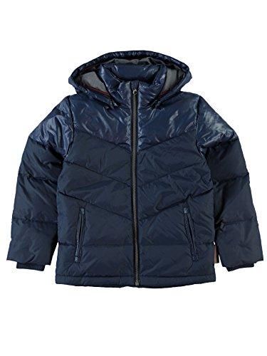 Name it Jungen Daunenjacke Winterjacke dunkelblau Moll kids, Größe:146;Farbe:dress blues