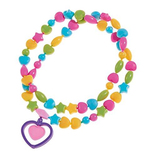 Simba 106374134 - Art & Fun Snap Beads Vollfarbig (Snap Perlen Zusammen)