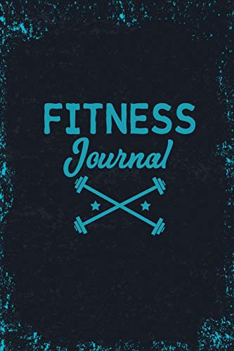 Fitness Journal: Blank Lined Gym Notebook: 9