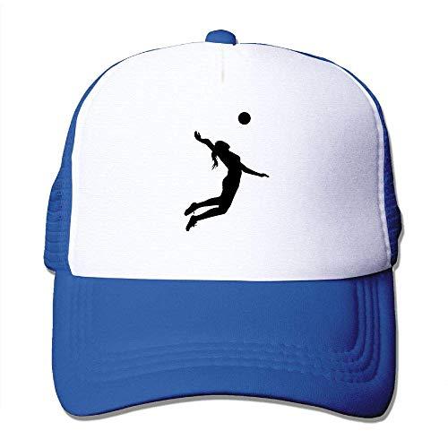 AOHOT Herren Damen Baseball Caps,Hüte, Mützen, Classic Baseball Cap, Volleyball Spike Silhouette Youth Hat-Polo Style (Spiel U Einhorn Wii)