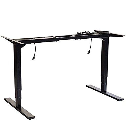 Office Fitness Höhenverstellbarer Schreibtisch nur Rahmen | Elektrische Stehpult | Programmierbare...